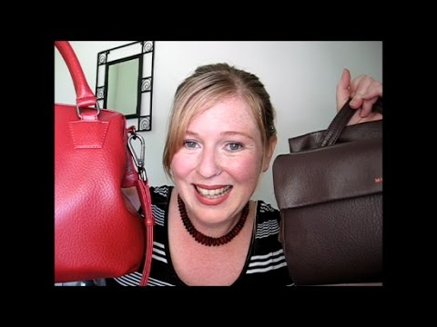 What's in My Bag | Matt & Nat Blinkin and Malone Vegan Handbag Reviews