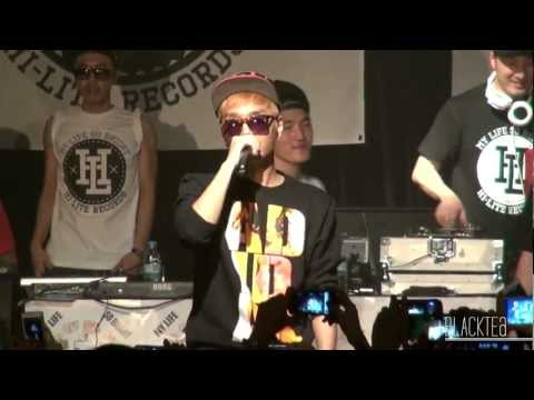 120824 HI-LITE SUMMER TOUR_  Huckleberry P X Simon D_ History Is Made At Night