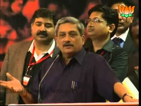 Manohar Parrikar talks about Kejriwal