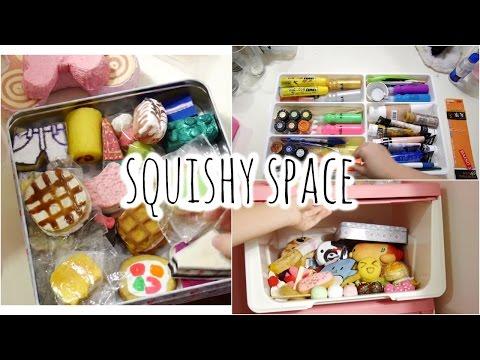 Cleaning My Squishy + Craft Storage