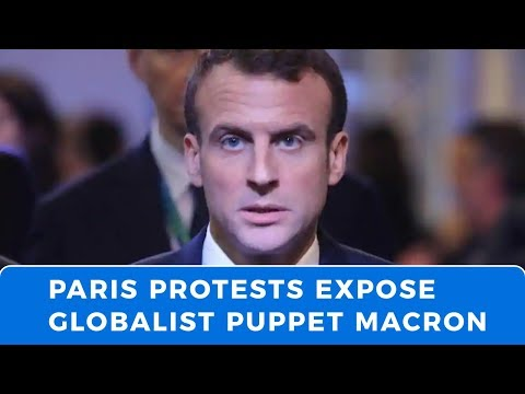 """France's """"Yellow Vest"""" revolution exposes globalist puppet Macron"""