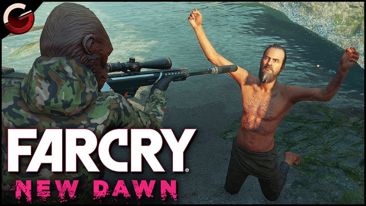 Epic Final Boss Fight Joseph Seed S Death Scene Far Cry New Dawn Gameplay Youtube