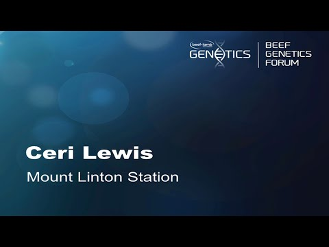 Mt Linton Genetics & NZ's Highest Beef EQ Rates - Ceri Lewis