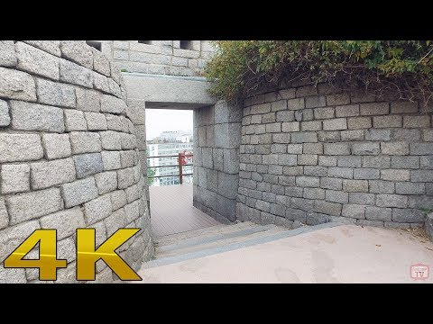 Walking around Seoul castle way 4k