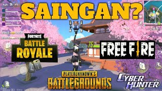 LATEST GAME RIVALS FORTNITE, PUBG, FREE FIRE? -CYBER HUNTER ANDROID