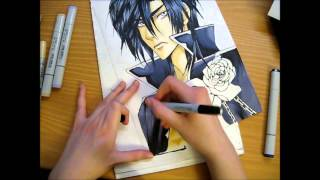Drawing Zess/Luka Crosszeria