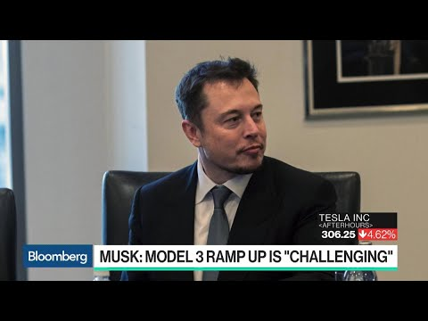 Tesla Reports New Setback for Model 3, With Output Lagging