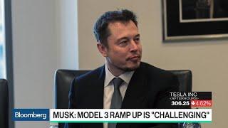 Production Bottlenecks Stall Tesla