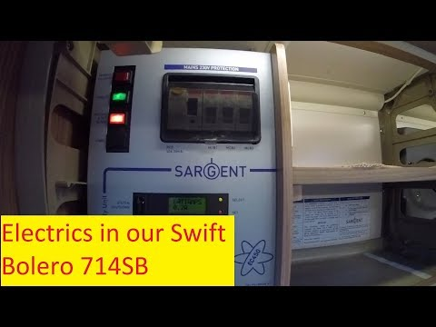 Electrics in a Swift Bolero 714SB Motorhome