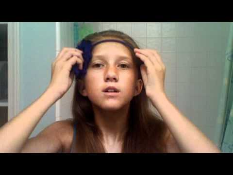 easy hair and makeup tutorial  summer and school look for