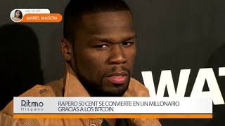 Rapero 50 Cent se convierte en un millonario gracias a los bitcoin