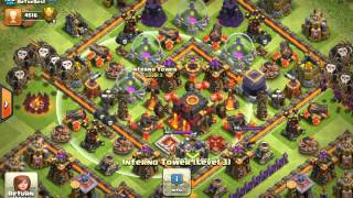 Clash of clans...Crazy war wins
