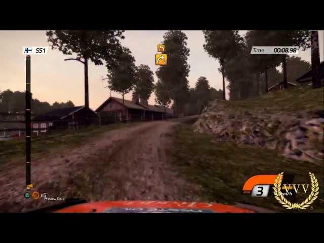 WRC 4 Finland - Dusk