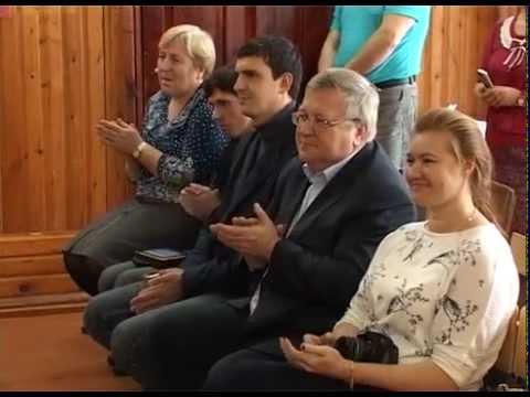 Тренажёры для сельской школы в Лапшино в Костромской области