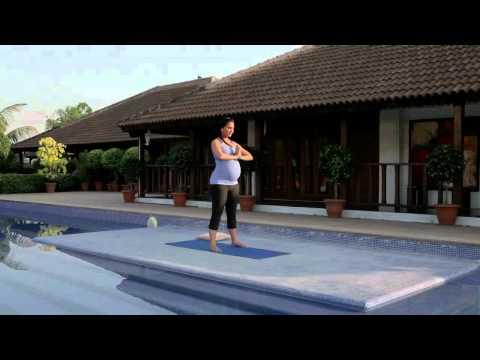 Prenatal Yoga Routine | Lara Dutta