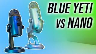 Blue Yeti vs Nano Microphone Comparison