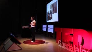 La bendición de tocar fondo: Gabriela Machuca at TEDxGuadalajara 2014