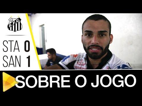 Vanderlei e Thiago Maia comentam vitória sobre o Santo André