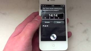Siri am iPhone 4 - Spire Port