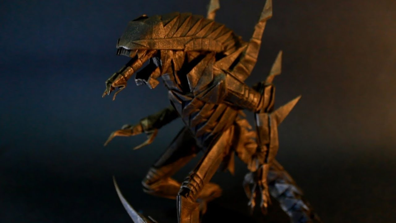 Origami requiem alien warrior youtube jeuxipadfo Images