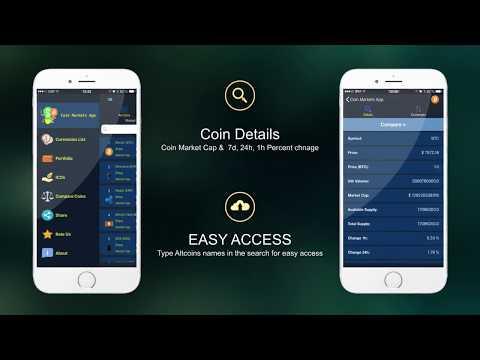 Coin Markets App- Crypto Prices and CoinMarketCap Tracker