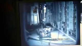 原発内3号機1階パックボット(PackBot)による撮影18