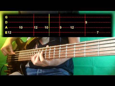 Roy Ayers - Can't You See Me Bass Cover (With Tab)