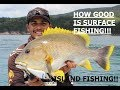 FISHING THE GREAT BARRIER REEF ISLANDS! GT CORAL TROUT MACKEREL