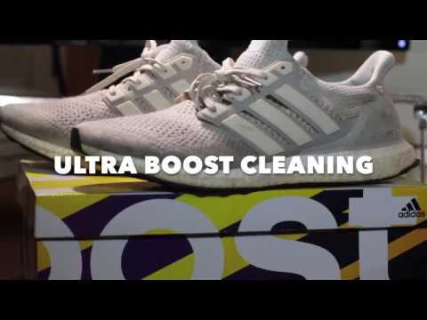 How To Clean Cream Ultra Boosts