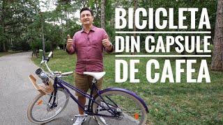 BICICLETA RECICLATĂ DIN CAPSULE DE CAFEA! - Velosophy+Nespresso=RE:CYCLE