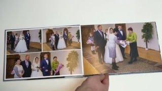 Пример свадебного фотоальбома  ВИДЕО  Фотограф на свадьбу Olegasphoto