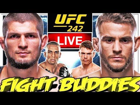 🔴 UFC 242 NURMAGOMEDOV VS POIRIER + BARBOZA VS FELDER LIVE FIGHT REACTION!