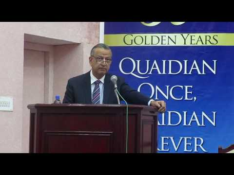 Dr. M. Shoaib Suddle's Talk On Un(Rule) Of Law: The Policing Conflict In Pakistan