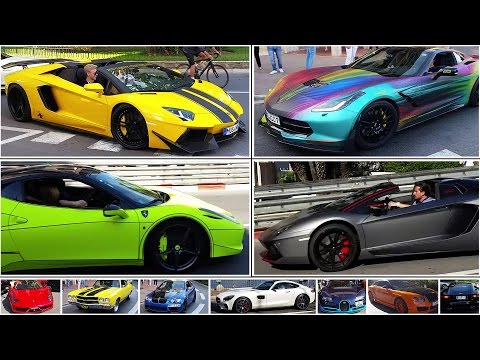 Best of Top Marques 2016  - Best Suparcars in the Streets of Monaco - (17 min)