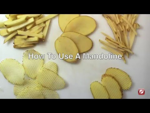 How To Use A Mandoline