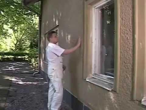 Как правильно окрасить оштукатуренный фасад