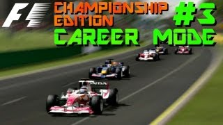 F1 Championship Edition Career: Melbourne GP GP 2006 [S1 #3]