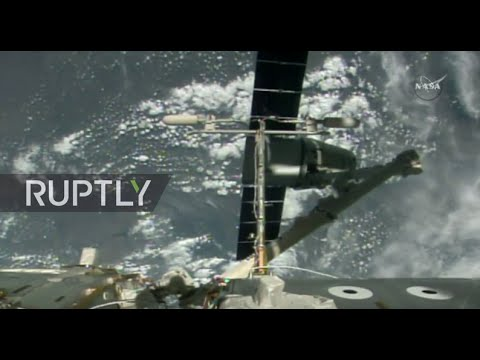 LIVE: SpaceX Dragon CRS-9 cargo ship departs from ISS