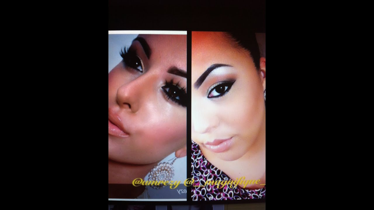 Youtube Makeup Tutorials Popular: Amrezy Inspired Makeup #1