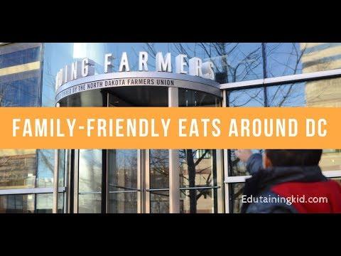 Family Friendly Eats Around DC:  Founding Farmers