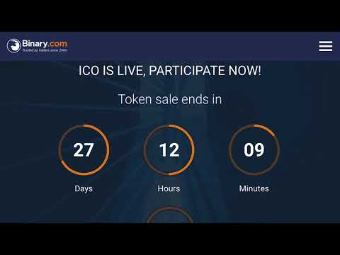 Binary - NEW ICO PLANS - Very Interesting Concept - No Pre-Determined ICO Price