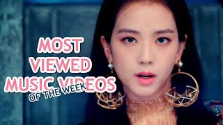 MOST VIEWED K-POP GROUPS MVs OF THE WEEK | OCTOBER 2018, WEEK 1