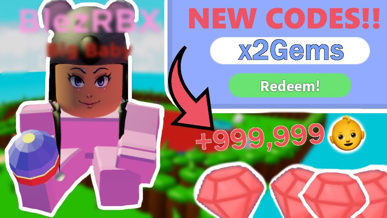 New Codes In Baby Simulator Free Gems And Happiness Roblox