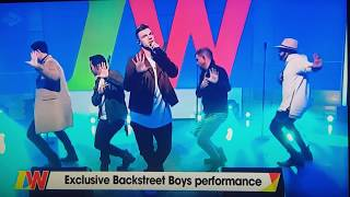 Backstreet boys live |Don't go breaking my heart