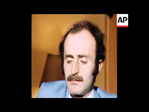 SYND 5 5 77 WALID JUMBLATT GIVES EXCLUSIVE INTERVIEW ON SYRIANS