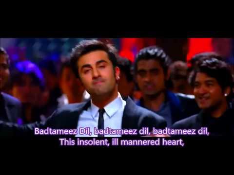 Battameez dil maane naa Hindi English Subtitles full Song HD