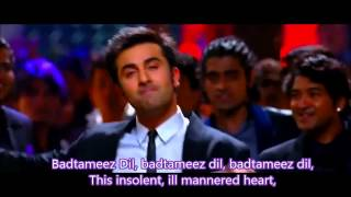 Battameez dil maane naa Hindi English Subtitles full Song HD