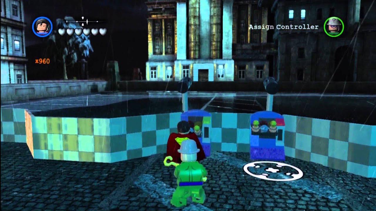 Lego Batman 2 DC Super Heroes: Red Brick Locations South ...