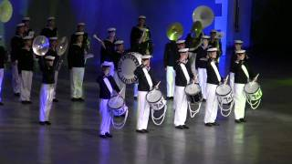 The Royal Swedish Navy Cadet Band at Fulda Military Tattoo (show)