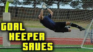 A Day in the Life of a GOALKEEPER - Awesome Saves